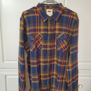 Levi's Button Down Shirt Brand New w/o Tags Large